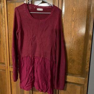 Altar'd State Magenta Sweater